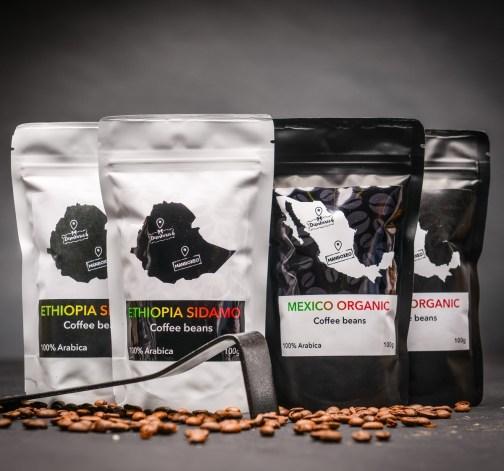 ethiopia sidamo mexico organic 100 g kavova zrna.JPG