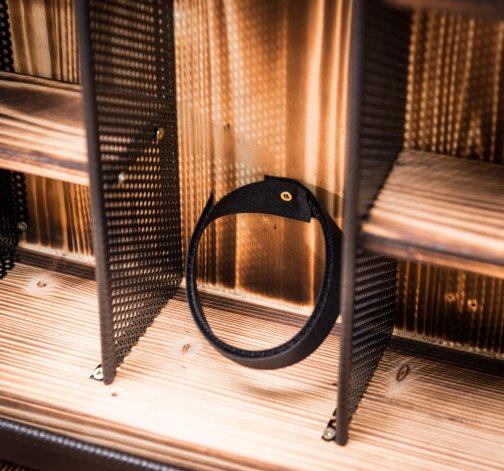Dočasný Manboxeo Bar Do boku - Černý mat prázdný