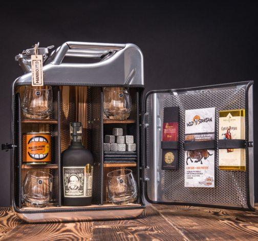 Dočasný Rum Manboxeo Bar Chrom