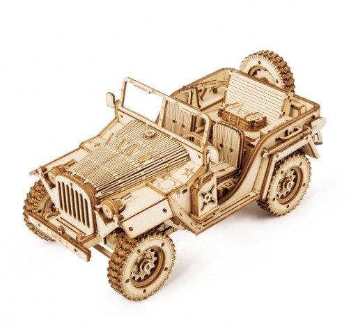 RoboTime Army Field Car