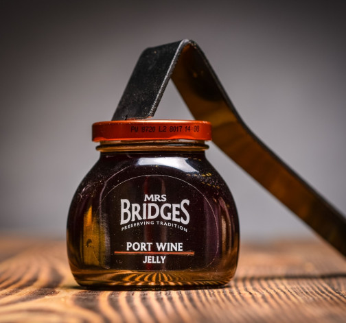 Port Wine Jelly - zelé z portskeho vina 250 g Mrs Bridges.JPG
