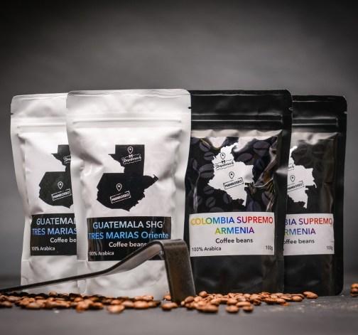 guatemala shg tres marias oriente colombia supremo armenia kavova zrna 100 g.JPG