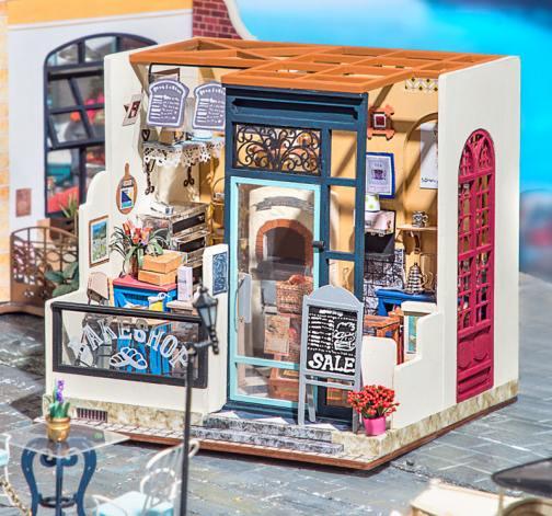 DIY model Nancyina pekařství