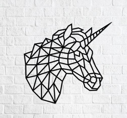 """Dřevěné skládací puzzle """"Unicorn"""""""