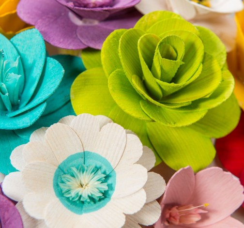 Malá kytice mix barev – 21 ks