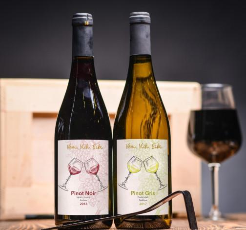 rulandske sede Gotberg a rulandske modre Gotberg vino.jpg