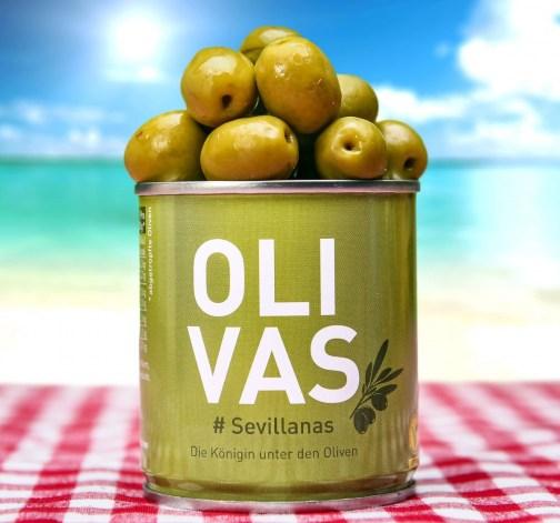 Set 3 plechovek oliv Anchoas, Aragonesas a Sevillanas