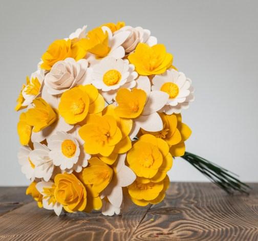 Velká kytice žlutá – 33 ks