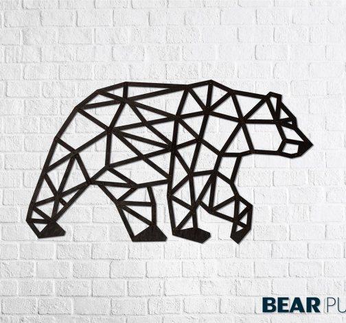 Designové nástěnné puzzle - Bear