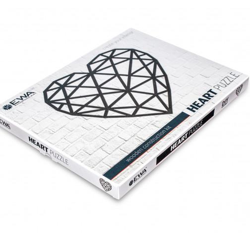 Designové nástěnné puzzle - Heart