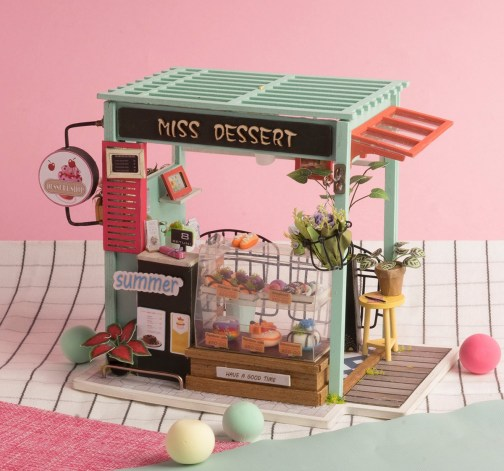 DIY model cukrárny