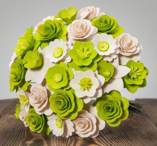 Velká kytice zelená – 33 ks