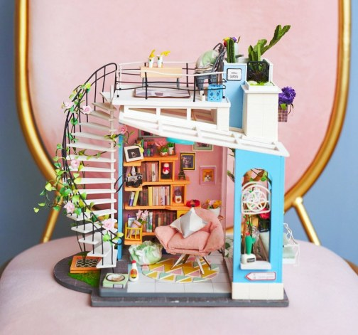 Udělej si sám: Model Dořina loftového bytu