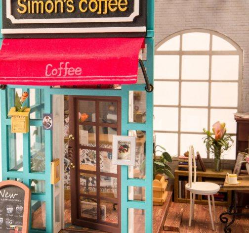 DIY model Simonovy kavárny