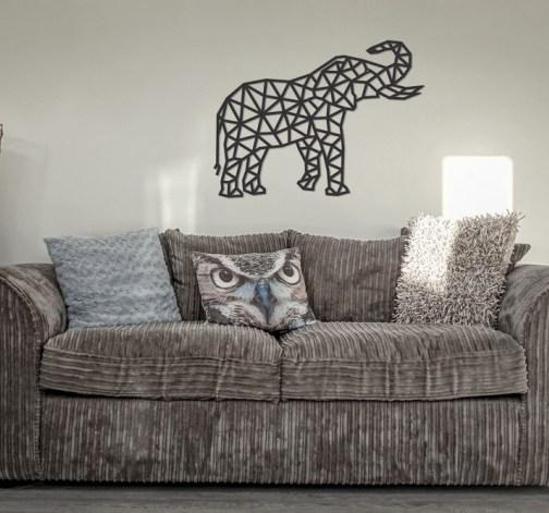 """Dřevěné skládací puzzle """"Elephant"""""""