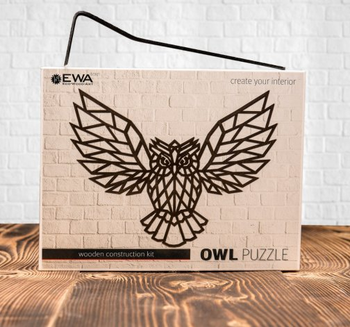 Bedna puzzle Owl a Eagle
