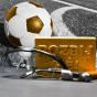 Zlatá cihla pro fotbalistu
