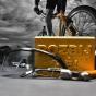 Zlatá cihla pro cyklistu