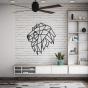 Designové nástěnné puzzle - Lion Head