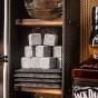 Dočasný Manboxeo Bar Zacapa - do boku