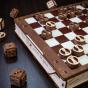 Dřevěný skládací 3D model - Gameset