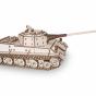 Dřevěný skládací 3D model - Tank Lowe