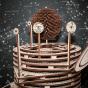 Dřevěný skládací 3D model - Planetarium