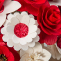 Velká kytice červená – 33 ks