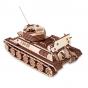 """Dřevěný skládací 3D model """"Tank T-34-85"""""""