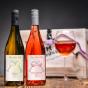 bile vino Palava 2018 vyber z hroznu, ruzove vino merlot rose pozdni sber 2018.jpg
