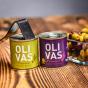 olivas sevillanas zelené olivy olivas aragonesas cerne olivy 80 g.JPG