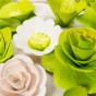 Malá kytice zelená – 21 ks
