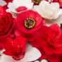 Malá kytice červená – 21 ks