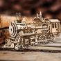 Dřevěný model lokomotivy