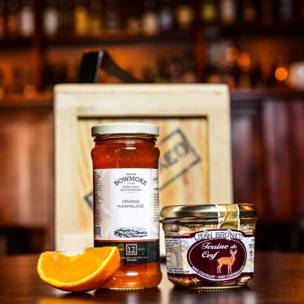 Pomerančová zavařenina s příměsí 12 leté whisky Bowmore 340g