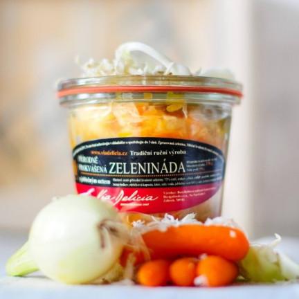 Zelenináda přírodně prokvášená, s jablečným octem 250g