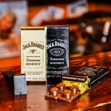 Luxusní čokoláda Goldkenn s náplní Jack Daniel´s 100g