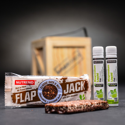 Flap Jack 100g chocolate + coconut, Nutrend