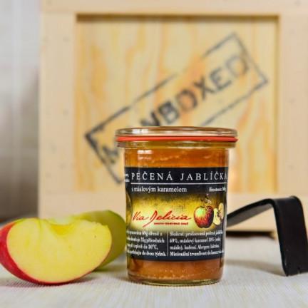 Pečená jablíčka smáslovým karamelem 160g