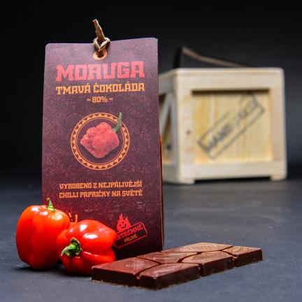Moruga tmavá čokoláda 80% 45g