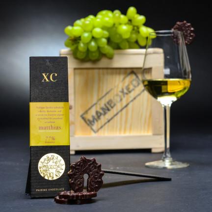 Noblesní čokoláda k bílým vínům Saint Domingue 72%