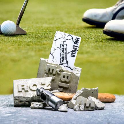 Cihla pro golfistu