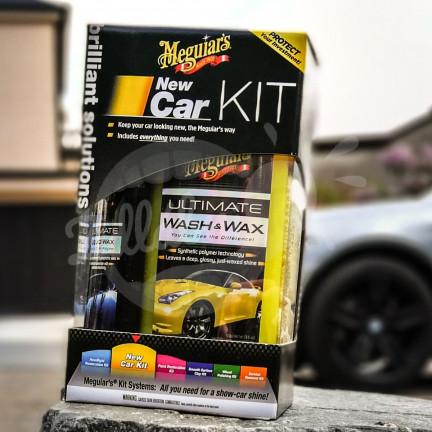 Meguiar´s New Car Kit - kompletní sada pro údržbu nového vozu