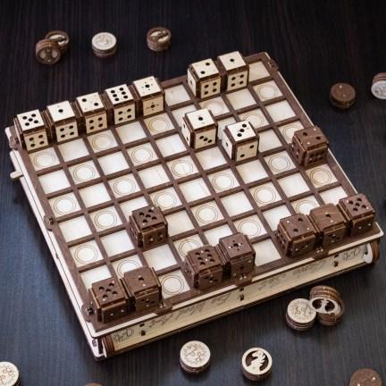 Dřevěný model Deskové hry