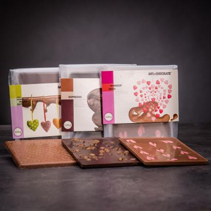 Set lahodných čokoládových tabulí II.