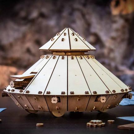 Model tanku Leonarda da Vinci