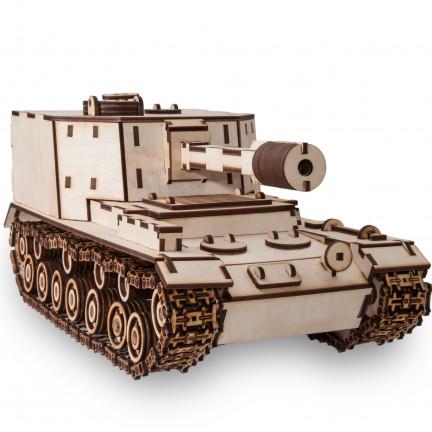 3D model Tank SAU-212