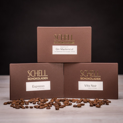 Set luxusních čokolád z německé tradiční čokoládovny