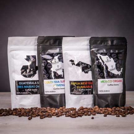 Káva z rodinné pražírny – 4 druhy II.
