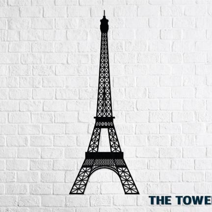 Dřevěné designové puzzle Eiffelova věž